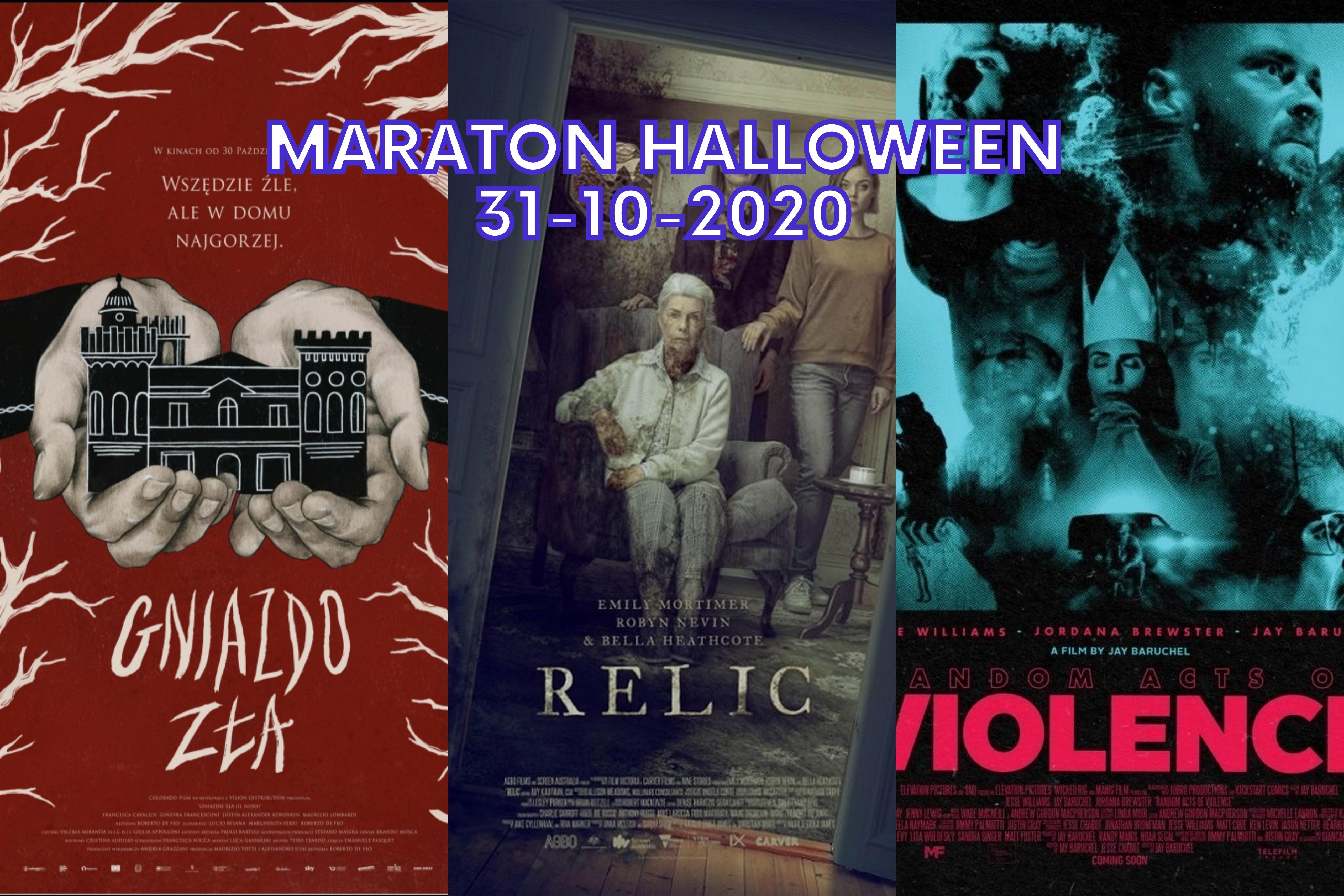 Maraton Halloween 2020: Gniazdo zła / Relic / Slasherman (Random Acts Of Violence)