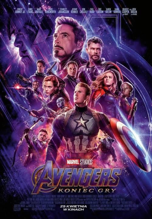 Avengers: Koniec Gry [2D dubbing]