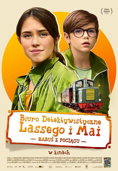 Biuro Detektywistyczne Lassego i Mai. Rabuś z pociągu